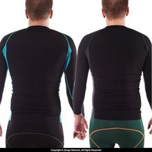 93 Brand Standard Issue Rash Guard 2-Pack (Black, Tron)